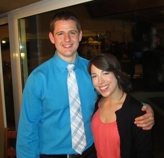 Noah (my birthday buddy) and I!