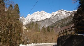 """This was about 30 minutes from the base. We called it """"the fist of Mt. Grappa"""""""