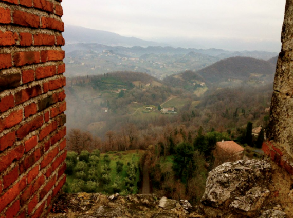 Another view from Castle