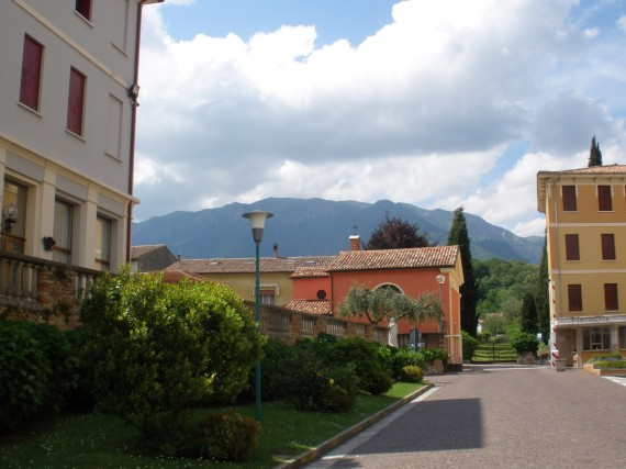 My first view of the gorgeous CIMBA campus