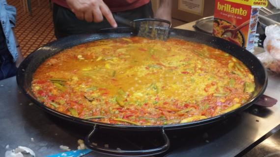 Making Paella!