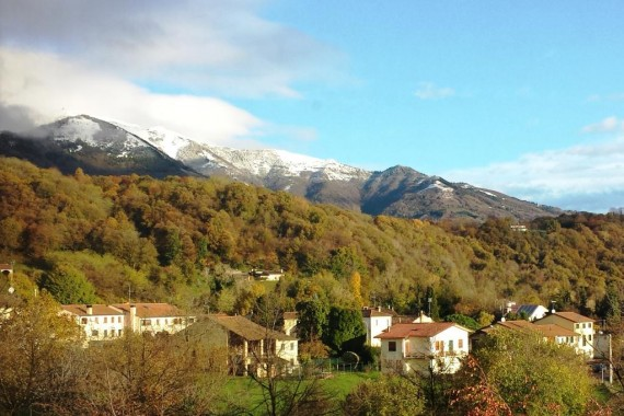 First Snow on the Mountains!