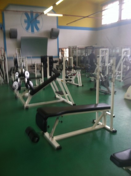 The campus gym