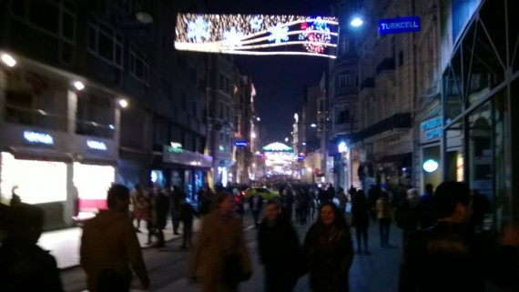 Isiklal Street at Night!