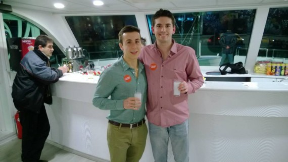 Raki drinks on the cruise!