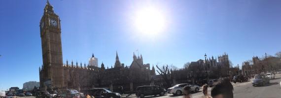 Panoramic picture of Big Ben!