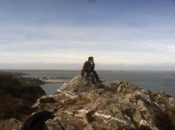 Mindfulness on the Irish Coast!