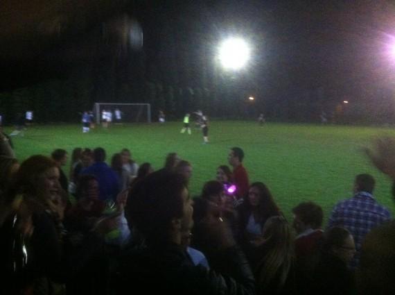 USA vs Italy soccer match!