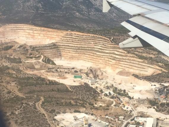 flight from Greece