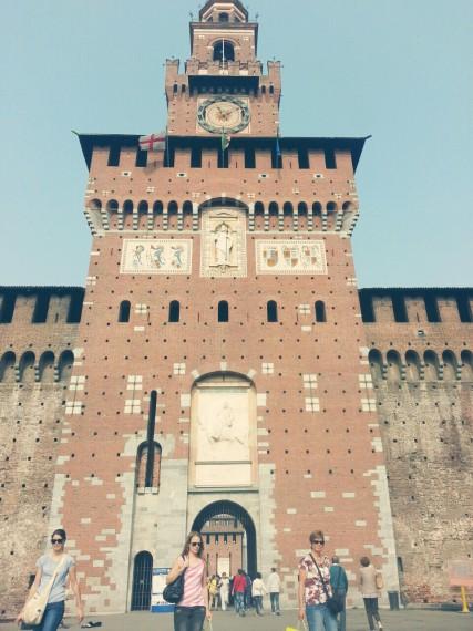 castel in Milan