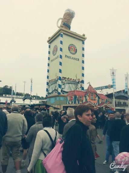 oktoberfest's first impression-Too many people!