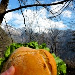 Tabacchi sandwiches and mountains. What more do you need?
