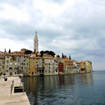 The old town of Rovinj