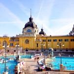 Bathing in Budapest