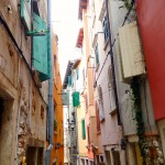 Colorful streets of Croatia