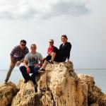 On the coast of Croatia!