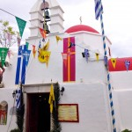 Easter Sunday celebration in Mykonos
