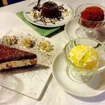Desserts in Cinque Terre