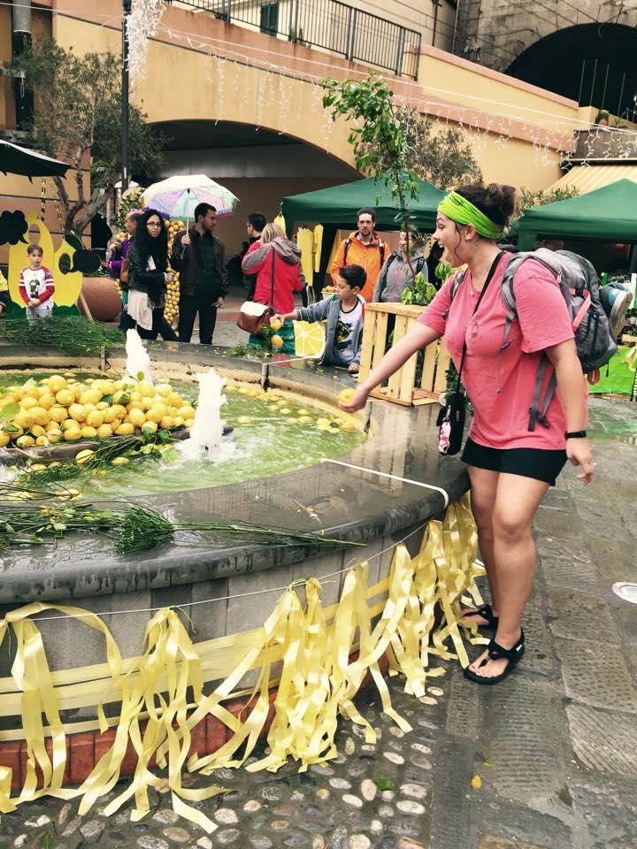Lemon festival in Monterosso, Cinque Terre