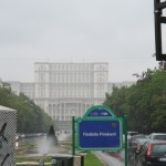 Palace of Parliament: Even in bad weather it looks amazing