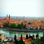 The incredible view from Castel San Pietro