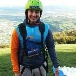 Getting ready for my paragliding adventure!