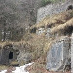 Ruins on Monte Grappa