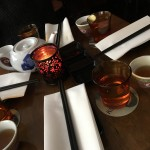 It truly felt like we had been transported into a different world while sipping on our hot Chinese tea.