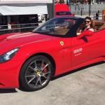 Rented a Ferrari in Barcelona