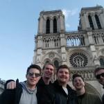 Selfie in front of Notre Dame