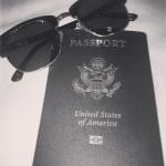 Passport & Sunglasses: Check