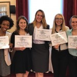 All smiles after graduating CIMBA's three day Leadership Institute For Excellence (LIFE) training