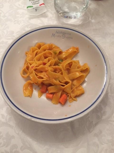 Delicious homemade pasta!