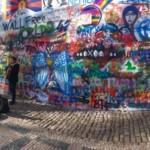 John Lennon Wall- Prague, Czech Republic