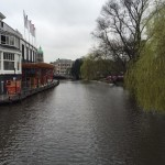 Just one of the many Amsterdam canals!