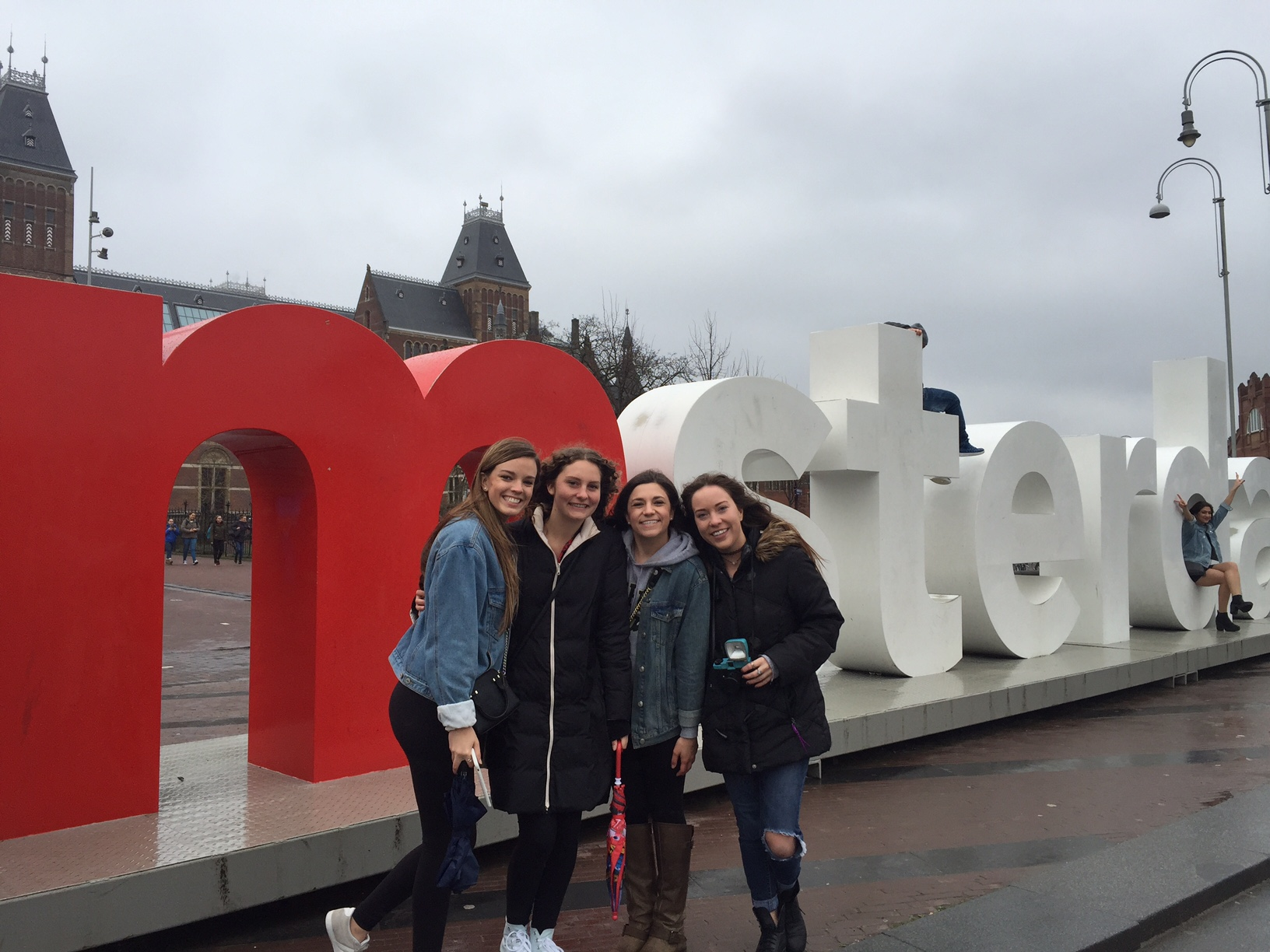 Did anyone really go to Amsterdam without taking a photo at the I Amsterdam sign?