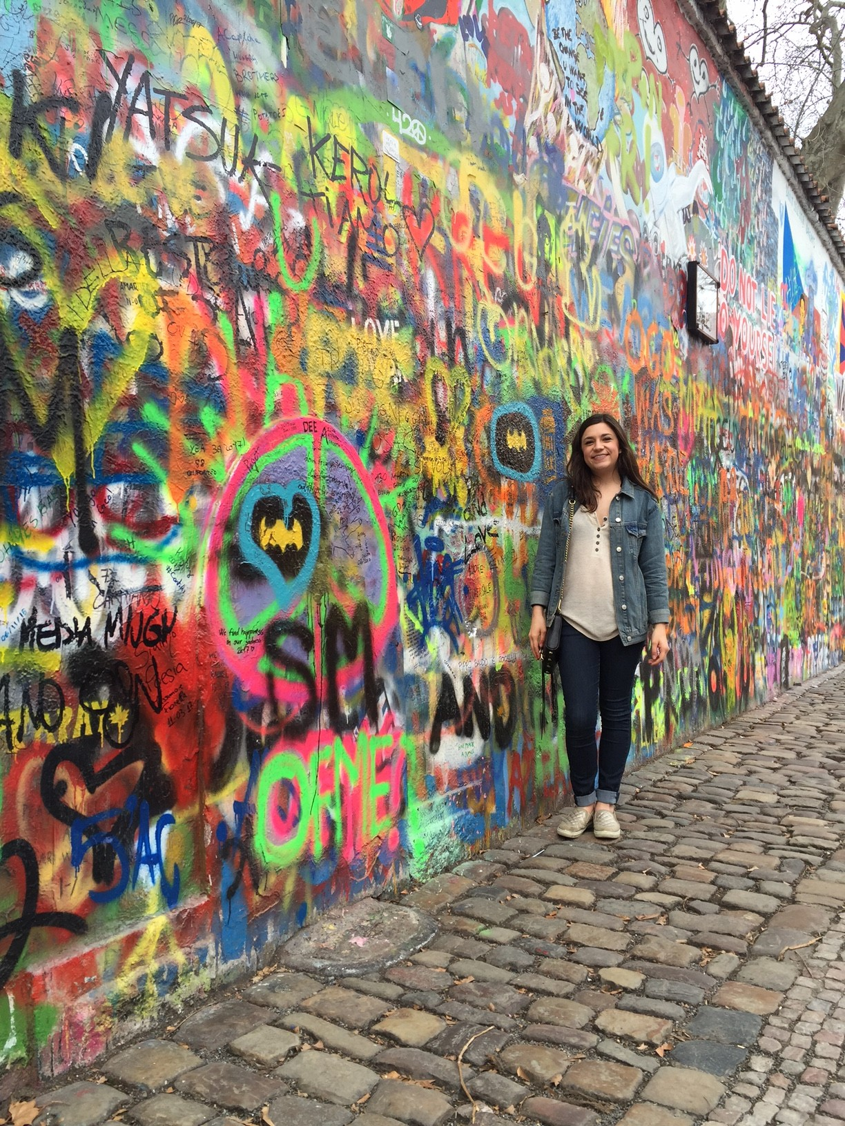 If you ever go to Prague, make sure to stop by the Lennon wall! It's super cool!