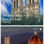 Just a couple of some of the amazing adventures I have been on thanks to the Sygic Travel app