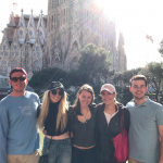 The collective efforts of a few brains and a few apps led us to the famous Sagrada Familia in Barcelona