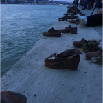 Top moments: Sitting along the Danube Bank in Budapest alongside the dozens of shoes that commemorate fallen Hungarians from World War II.