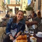 We found the cutest café in a hidden corner in Verona.