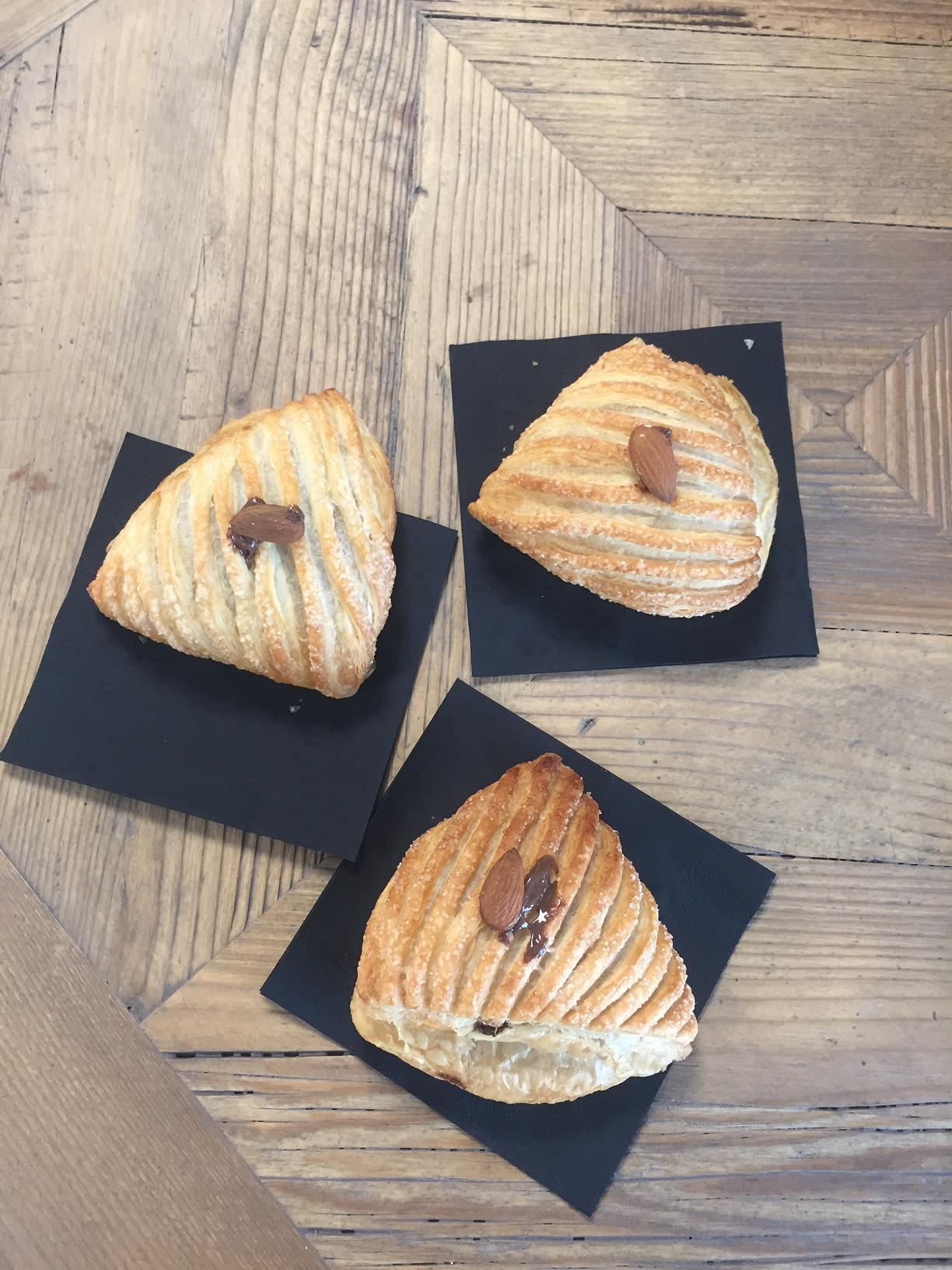 Yummy croissants at Forno d'Asolo
