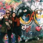 The famous John Lennon Wall